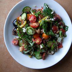 ... -Steak and Arugula Salad with Mustard Caper Vinaigrette Recipe