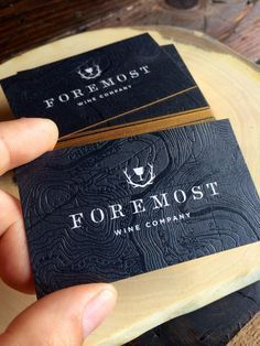 A very nice design of some buisness cards.