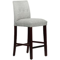 Skyline Furniture Ariana Tapered Stools with Buttons