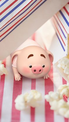 Most Popular Kawaii Wall Paper Iphone Happy Ideas This Little Piggy, Little Pigs, Pig Wallpaper, Iphone Wallpaper, Kawaii Pig, Cute Piglets, Pig Illustration, Funny Pigs, Animated Dragon