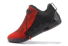 5e28b1c7a272 2018 Nike Kobe AD NXT Black University Red Shoes Free Shipping Boys  Basketball Shoes