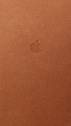If you are a wallpaper fanatic, nothing seems better than having the perfect image to match your favorite iOS devices. Previously, we posted wallpapers that matched the iPhone's aluminum body colors. Iphone Logo, Apple Logo Wallpaper Iphone, Hd Wallpaper Android, Mobile Wallpaper, Wallpaper Backgrounds, Apple Background, Brown Wallpaper, Leather Case, Leather Key