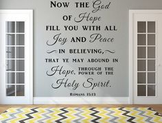 Psalm Christian Wall Quote Family Wall Decal Wall Art - Custom vinyl wall decals christian