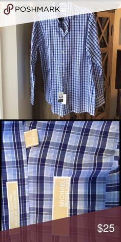 Michael Kors dress shirt - Men- 16 (34/35) Michael-Michael Kors dress shirt - Men- 16 (34/35) MICHAEL Michael Kors Shirts Dress Shirts
