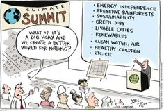 The risks of caring about climate change...