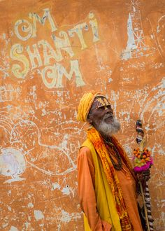 I love this photo of a Sadhu in Nepal. (by Guido Dingemans)