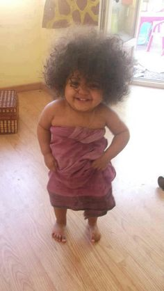 natural hair adorable! lol! @curlyteaconsult