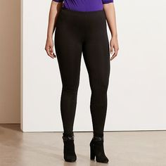 Ralph Lauren Woman Stretch Ponte Legging *** You can get more details by clicking on the image.