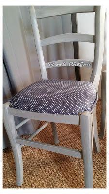 Broc et Chiffons Relooking de meubles dans les deux sèvres 79. Patine à l'ancienne: Comment moderniser des chaises en paille ?!