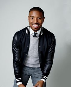 """Michael B. Jordan: How to Dress Down for the Weekend - GQ Magazine """