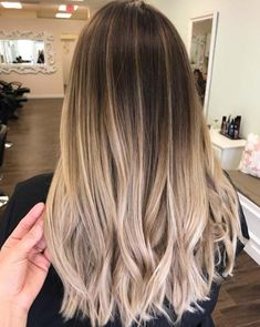 Balayage High Lights To Copy Today - Fall Tones - Simple, Cute, And Easy Ideas For Blonde Highlights, Dark Brown Hair, Curles, Waves, Brunettes, Natural Looks And Ombre Cuts. These Haircuts Can Be Done DIY Or At Salons. Don't Miss These Hairstyles! - https://www.thegoddess.com/balayage-high-lights-to-copy #makeupideasforblondes