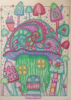 Dreamlings By EdwinaMcNamee Coloring Book Medium Prismacolor Pencils