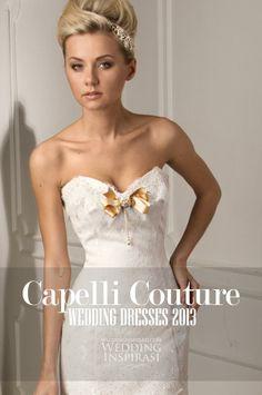 http://weddinginspirasi.com/2013/07/31/capelli-couture-2013-wedding-dresses/ Capelli Couture 2013 Wedding Dresses #weddings #weddingdress #bridal #weddinggown