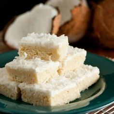 Coconut Sugar Cookie Squares - likely to be your favorite sugar cookie. This is a great cookie. And an easy recipe. I am not a huge frosting person, but I am a big coconut person. And this coconut buttercream frosting is amazing!