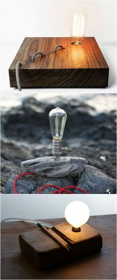 8 Best Handmade Wooden Desk Lamps - #TableDeskLamps #Handmade #LightBulb…