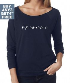 b510615df76 Items similar to Friends Sweatshirt. Funny Friends Shirts Best Friends Gifts  Grunge Hipster Shirts Quote Sweatshirt Gifts Women Sweatshirt Lady Gifts  Women ...