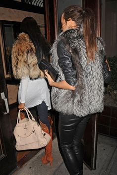 Finnish raccoon and silver fox -- #trending #look #outfit #glam #fashion #fur #winter #Fall #style #comfort #glamorous