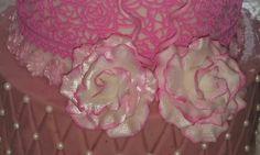 Weiß-Rosa Zucker Rosen