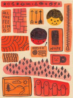 The Design and Illustration of Hiller Goodspeed Graphic Illustration, Graphic Art, Oeuvre D'art, Cute Art, Art Inspo, Art Drawings, Character Design, Artsy, Prints