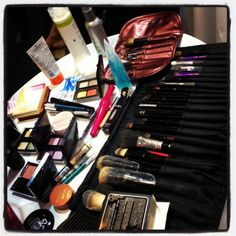 Makeup! ♥ Some Racco products at Racco's International Convention, Brazil, 2013