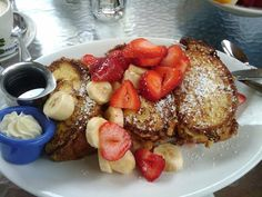 Stuffed French Toast from The Cottage in La Jolla