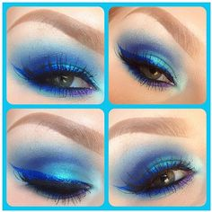 """So much love for Cheeksmakeup's """"Ice Monster"""" look featuring Sugarpill Royal Sugar, Mochi, Lumi and Hysteric."""