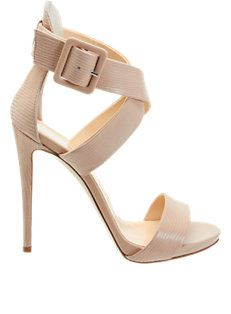 Crisscross-Strap Sandals