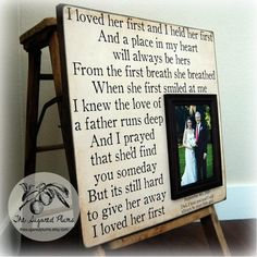 """""""I Loved Her First"""" This is the song we played at our daughter's wedding for the Father/Daughter dance. Her dad chose it but didn't tell her until it played for their dance. Father Daughter Wedding Songs, Wedding Gifts For Parents, Daddy Daughter, Daughters, Daughter Songs, Diy Wedding, Dream Wedding, Wedding Day, Wedding Bells"""
