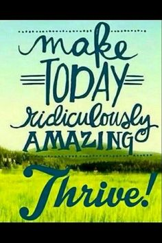 Tayarankin.le-vel.com  It really is ridiculous amazing every day!!!   #thriveexperience