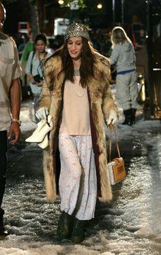 stylish pajamas, Carrie Bradshaw
