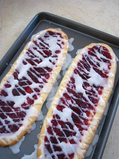 Raspberry Shortbread bars. - I think these might be the next dessert I bake!