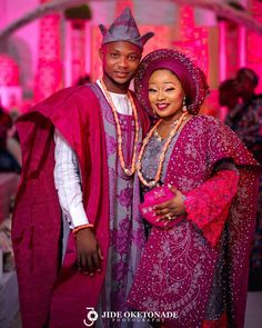 Yoruba traditional weddings are always a sight to behold, from the expectant smiles of the young men about to become Traditional Wedding Attire, African Traditional Wedding, Traditional Weddings, Traditional Ideas, Nigerian Traditional Dresses, African Wedding Attire, African Weddings, African Attire, African Dress