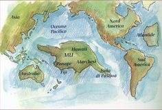 Esoteric timeline of the History of humanity on Earth, including the civilizations of Lemuria and Atlantis.
