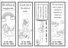 Material didáctico del Día del Libro para niños
