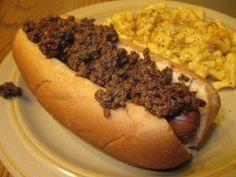 Guy Fieri Hot Dog Chili