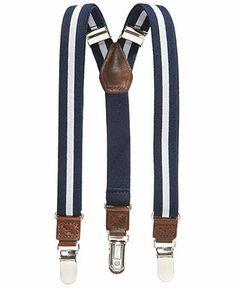 $15 Nautica Boys' Rugby Stripe Suspenders - Kids - Macy's