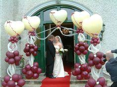 Wedding entrance.