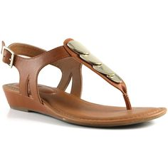 EuroSoft Women's Mika Sandals ($96) ❤ liked on Polyvore featuring shoes, sandals, cognac, synthetic shoes, eurosoft sandals, summer sandals, cognac sandals and cognac shoes