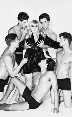 Rebel Wilson. My dream is to be groped by 5 sexy man-slaves.