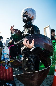Kaneki cosplay - Tokyo Ghoul - picture of Comiket 89 Photo Report: Day 2 8