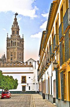 Patio de Banderas, Sevilla | Andalucía | España (by Zú Sánchez. Todo listo!)