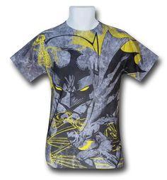 Images of Batman Symbiotic Sublimated T-Shirt