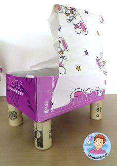Wieg knutselen, thema baby voor kleuters, kleuteridee.nl, Kindergarten craft, cradle baby theme