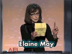 Elaine May Salutes Mike Nichols at the AFI Life Achievement Award - funny, funny speech!