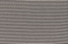 Striped Bamboo Organic Cotton Jersey Knit Fabric