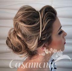 Os penteados de Janaina Mendes - Madrinhas de casamento