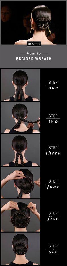TRESemmé Hair How-to | Braided Wreath