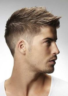 New mens short hairstyles - http://new-hairstyle.ru/new-mens-short-hairstyles/ #Hairstyles #Haircuts #Ideas2017 #hair