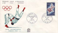 Timbre : JEUX OLYMPIQUES DE TOKYO 1964 | WikiTimbres