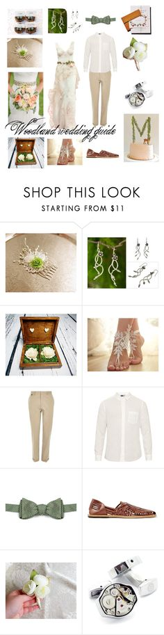 """""""Woodland wedding"""" by marzenakedra ❤ liked on Polyvore featuring NOVICA, River Island, Blue Blue Japan, Brooks Brothers, Topman, LC COLLECTION and vintage"""